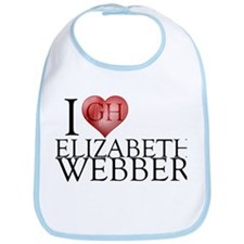 I Heart Elizabeth Webber Bib