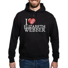 I Heart Elizabeth Webber Hoodie (dark)