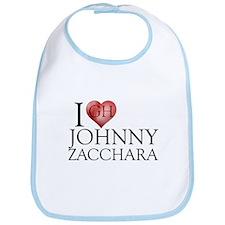 I Heart Johnny Zacchara Bib