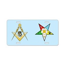 Masonic Eastern Star Aluminum License Plate