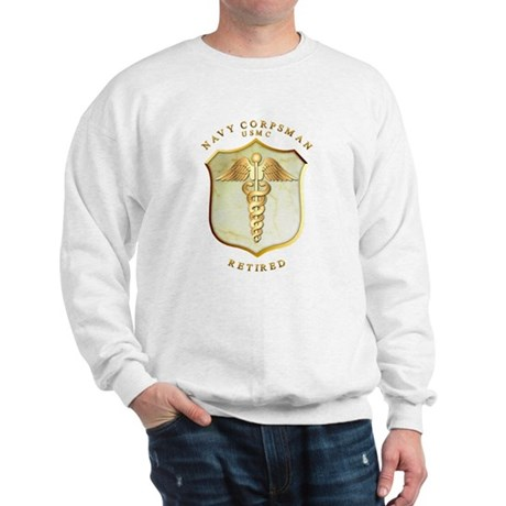 Corpsman USMC Retired Sweatshirt