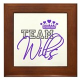 Team Wills Royal Crown Framed Tile
