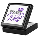 Team Wills Royal Crown Keepsake Box