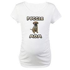 Puggle Mom Maternity T-Shirt