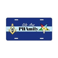 Prince Hall Mason - OES Aluminum License Plate