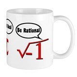 Get Real, Be Rational Small Mug