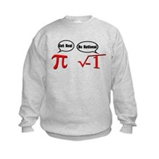Get Real, Be Rational Sweatshirt