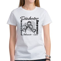 Diabetes Awareness Women's T-Shirt