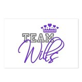 Team Wills Royal Crown Postcards (Package of 8)