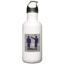 Capitalism Water Bottle