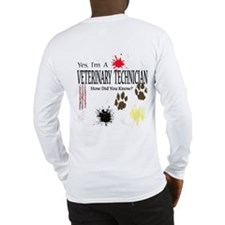 Yes I'm A Veterinary Technician Long Sleeve T-Shir