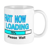 FART NOW LOADING Small Mug
