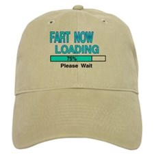 FART NOW LOADING Baseball Cap