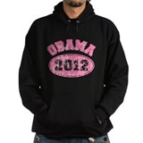 OBAMA 2012 Pink Faded Hoody