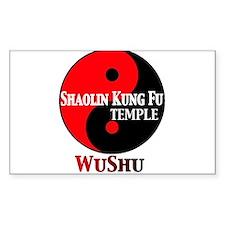 wushu Decal