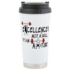 Excellence is an Attitude Ceramic Travel Mug