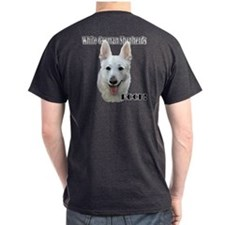 White German Shepherds Rock T-Shirt