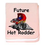 Future Hot Rodder baby blanket