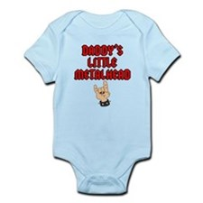 Daddy's Little Metalhead Infant Bodysuit