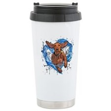 Hungarian Vizsla Travel Mug (Ernie