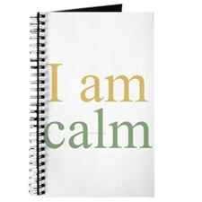 I am calm Journal