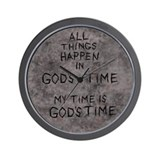 God Wall Clock