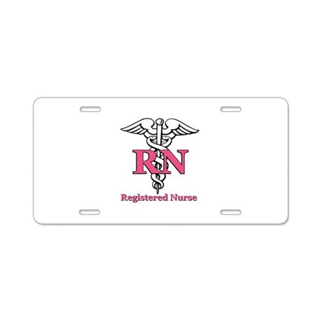 Registered Nurse License Renewal Illinois on Bn Car Accessories   Registered Nurse Aluminum License Plate