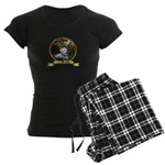 lab puppy Women's Dark Pajamas