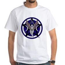 Sigil Front Name Back White Tshirt