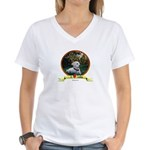 lab puppy Women's V-Neck T-Shirt