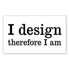 I Design Decal