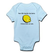 when life hands me lemons, I Infant Bodysuit