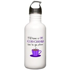 Cafe Latte Water Bottle