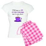 Cafe Latte Women's Light Pajamas