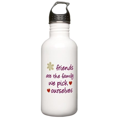 Friends Are Family Stainless Water Bottle 1.0L