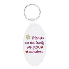 Friends Are Family Keychains