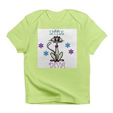 Little Diva Cat Infant T-Shirt
