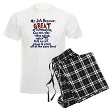 Slackers Job Resume Pajamas