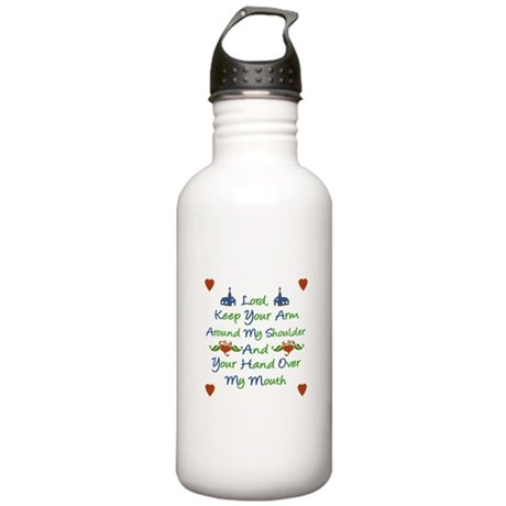 Lord Help Me Stainless Water Bottle 1.0L