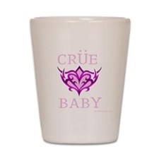 Unique Rock n roll baby Shot Glass