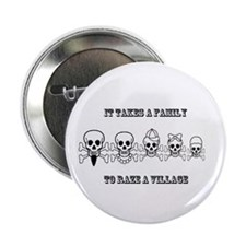 """It Takes a Family 2.25"""" Button (10 pack)"""