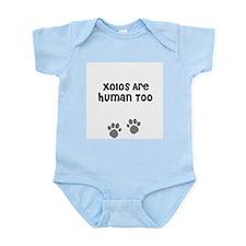 Xolos Are Human Too Infant Creeper