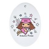 Graduation Princess 2011 Ornament (Oval)