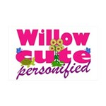 Cute Willow 38.5 x 24.5 Wall Peel