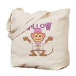 Little Monkey Willow Tote Bag