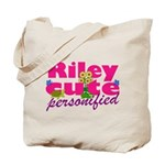Cute Riley Tote Bag