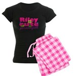 Cute Riley Women's Dark Pajamas