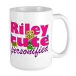 Cute Riley Large Mug