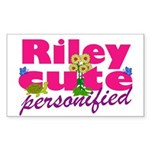 Cute Riley Sticker (Rectangle 50 pk)
