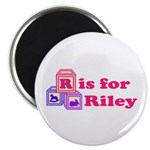 Baby Blocks Riley Magnet